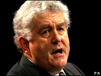 Rhodri Morgan at the Welsh Labour conference