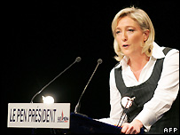 Marine Le Pen speaking to the convention - 24/2/2007