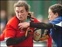 Wales' Louise Rickard