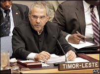 Jose Ramos-Horta. File photo