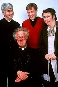 Cast of Father Ted
