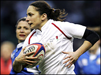England captain Sue Day has been in form in the Six Nations