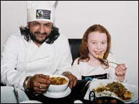 Fairtrade curry launch