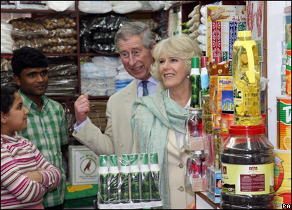 The Prince of Wales and the Duchess of Cornwall in Qatar