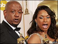 Forest Whitaker and Jennifer Hudson
