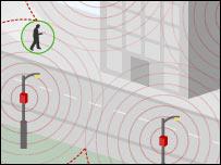Wi-fi zone illustration