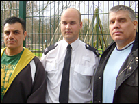 Ahmet, PC Marcus and Lee