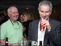 JP McEnroe and John McEnroe - picture courtesy of Tim Edwards