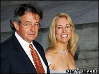 Joseph Wilson and Valerie Plame in an April 2006 file photo