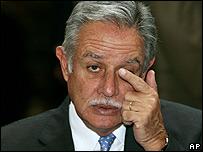 Óscar Berger, presidente de Guatemala