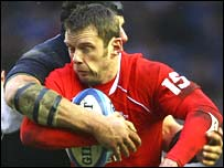 Wales full-back Kevin Morgan