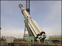 Proton rocket  Image: European Space Agency