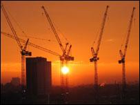 Building site (Image: BBC)