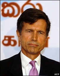 US Ambassador to Sri Lanka Robert Blake