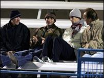 Brad Gilbert, Andre Agassi, Andy Murray, John Lloyd