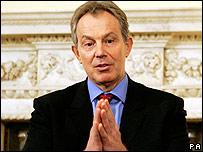 Tony Blair in March 2006