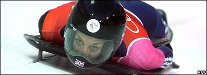 Shelley Rudman, skeleton bob medallist and former 400m hurdler