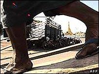 Worker in Burma
