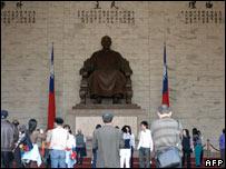 Chiang memorial in Taipei