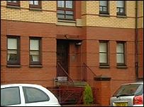 Mr McGhee's aunt's house on Kenmore Street