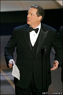 Al Gore at the 2007 Oscars ceremony