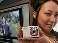 New camera being displayed