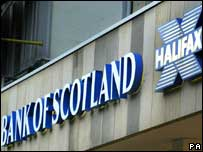 HBOS branch sign