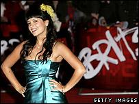 Singer Lilly Allen