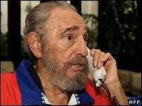 Fidel Castro - file photo dated 28/10/2006