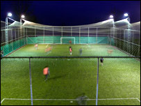 Football pitch at Pelitli
