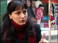 Political activist Zeynep Erdugul