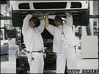 Volkswagen workers
