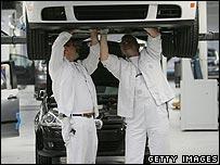 Volkswagen workers