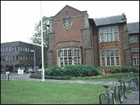 View of the University of Southampton
