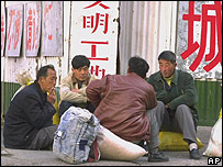 Migrant workers in Beijing (archive photo)