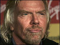 Sir Richard Branson, Virgin Media's biggest single shareholder