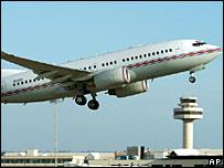 Suspected CIA plane