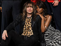 Justin Hawkins and Beverlei Brown