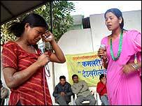 Nepal NGO drama scene