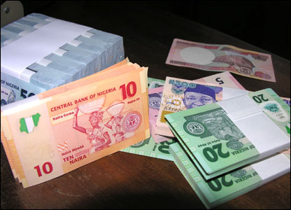 The new 50, 20, 10 and 5 naira denominations