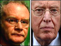 Martin McGuinness and Ian Paisley
