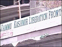 A JKLF office in Murree
