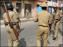 Police in Bangalore