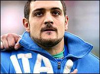 Italy captain Marco Bortolami
