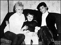 Tom Jones and family Pic: Western Mail & Echo