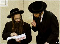 Young ultra-orthodox Jews in Jerusalem. File photo