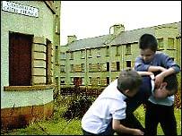 Children on estate