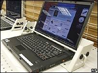 A Lenovo computer