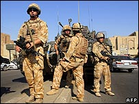 British troops in Basra