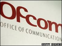 Ofcom sign, Getty